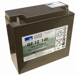 Golfbatteri 14 Ah Gel