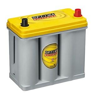 38Ah Startbatteri/Förbrukning Optima(YTR U 2.7 ) Yellowtop