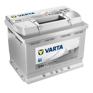 63 Ah Startbatteri Varta Silver Dynamic