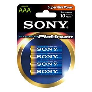 Stavbatteri 1,5V AAA LR03 4-pack