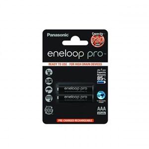 Laddbara stavbatterier AAA  Eneloop Pro, 2-pack 930 mAh