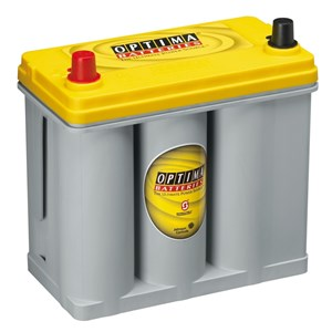 38Ah Startbatteri/Förbrukning Optima(YT S U 2.7 J) Yellowtop