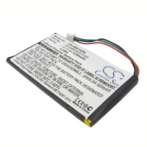 GPS batteri Garmin Nuvi 1250mAh