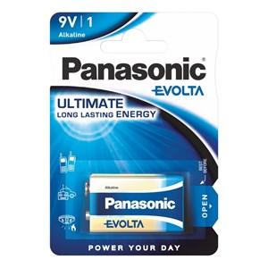 Stavbatteri Panasonic Evolta High Premium 9V 6LF22