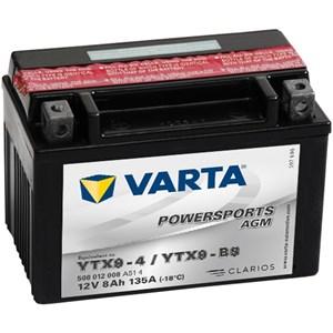 Batteri Varta YTX9-BS
