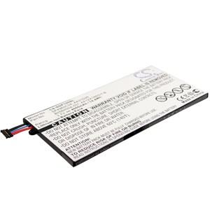 Batteri Surfplatta Samsung Tab 7.0,  4000 mAh