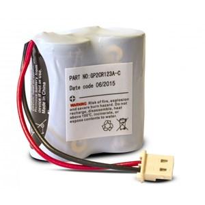 Kameradetektorbatteri 2CR123A