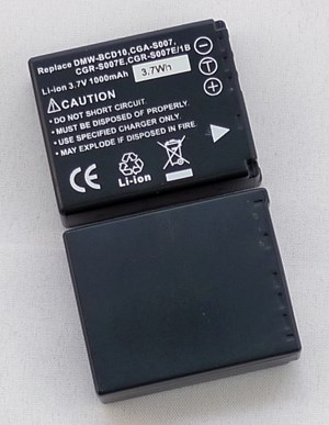 Panasonic CGR-S007E,DMW-BCD10