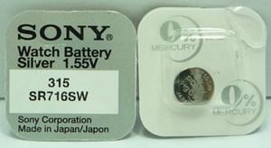Knappcellsbatteri   SR716SW