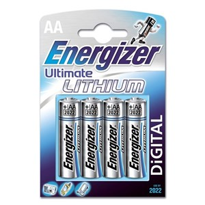 Energizer Ultimate Lithium AA, 4-pack