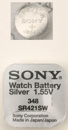 Knappcellsbatteri  SR421SW