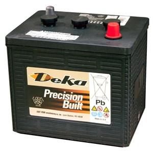 Startbatteri Deka 6v
