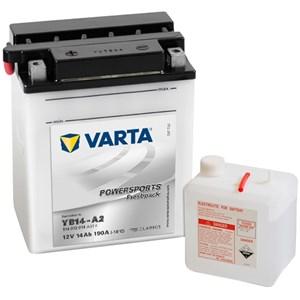 Batteri Varta YB14-A2