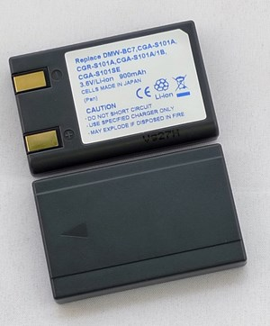 Panasonic DMW-BC7, CGA-S101A