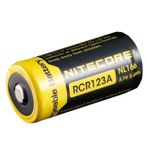 Laddbart CR123A, 650 mAh 3,7 volt