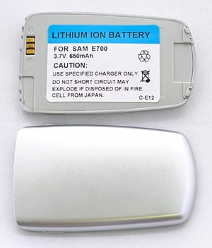 Samsung SGH E700 Silver/Slim