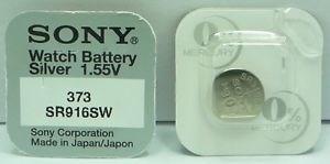 Knappcellsbatteri  SR916SW