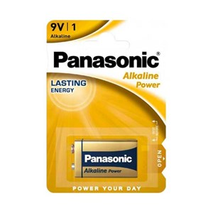 Stavbatteri Panasonic Alkaline Power 9V 6LF22