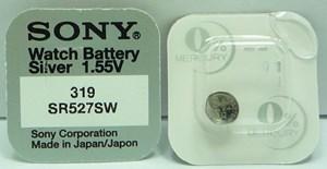 Knappcellsbatteri   SR527SW