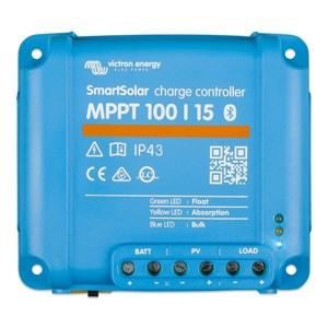 Victron Smart Solar laddningsregulator MPPT 100/15