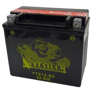 Batteri  YTX12-BS