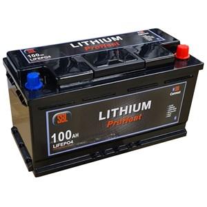 Batteri Lithium 12V, 100Ah Bluetooth och värme