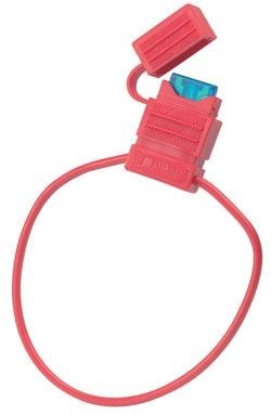 Säkringshållare ATC 2mm2 20A max