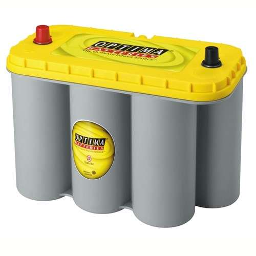 75ah start f rbrukningsbatteri optima yt s 5 5 yellowtop. Black Bedroom Furniture Sets. Home Design Ideas