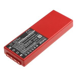 Kran-fjärrkontrollsbatteri HBC 6 V 2000 mAh