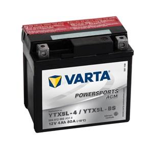 Batteri Varta YTX5L-BS