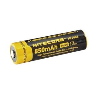 Batteri Nitecore Li-Ion 3,7V, 850 mAh  med krets,
