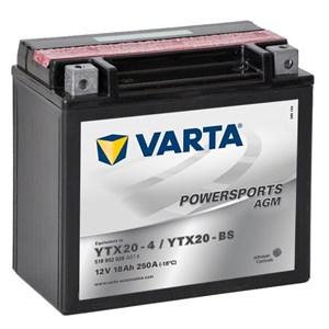 Batteri Varta YTX20-BS