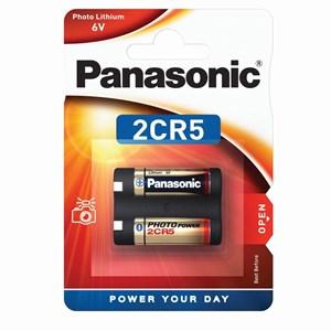 Stavbatteri Panasonic 6V, 1300 mAh