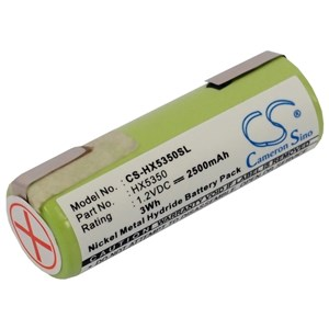 Batteri till tandborste Braun 1008 mfl