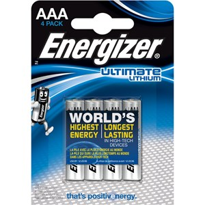 Energizer Ultimate Lithium AAA 4-pack