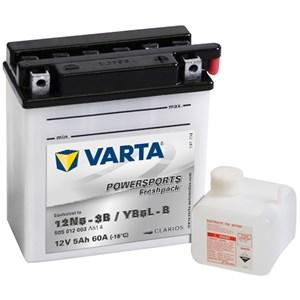 Batteri Varta YB5L-B