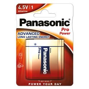 Stavbatteri Panasonic 4,5V 3LR12