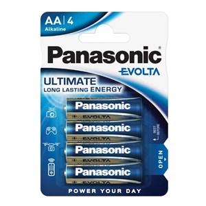 Stavbatteri Panasonic Evolta High Premium 1,5V AA LR6 4-pack