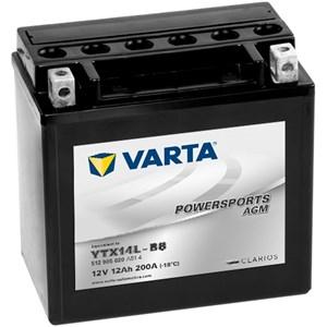 Batteri Varta YTX14L-BS