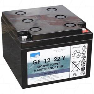 Golfbatteri 24 Ah Gel