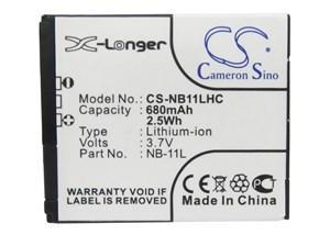 Canon NB-11L, 680 mAh