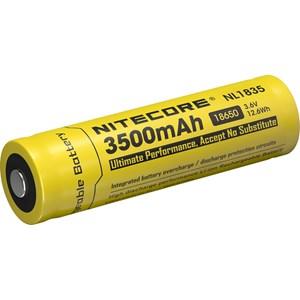Batteri Nitecore 18650, Li-Ion 3,7V, 3500 mAh  med krets,
