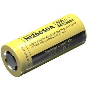 Batteri Nitecore 26650, Li-Ion 3,7V, 4200 mAh