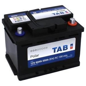 60 Ah Startbatteri TAB, S60