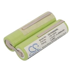 Batteri till Philips Shaver, 2000 mAh