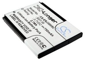 Sony Ericsson J300i/K510i, 750 mAh