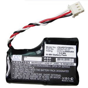 Scanner handdator batteri Symbol PDT3100, 750 mAh