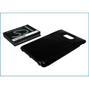 Samsung Galaxy  S II svart, 3200  mAh