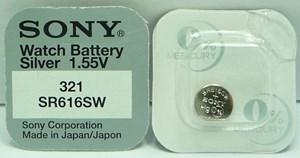Knappcellsbatteri   SR616SW/SR65