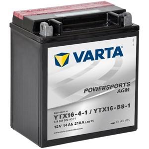 Batteri Varta YTX16-BS-1